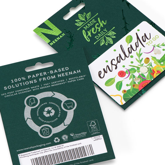 ImageMax Sustainable Paper Gift Cards