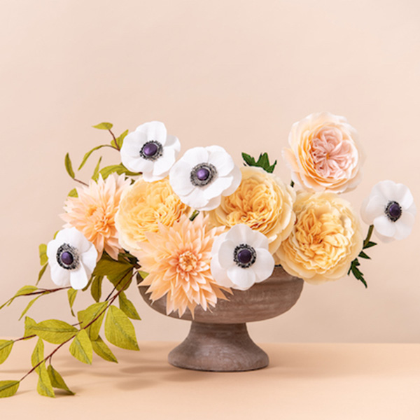 Beautiful Paper Floral Centerpiece by  Revery Paper Flora