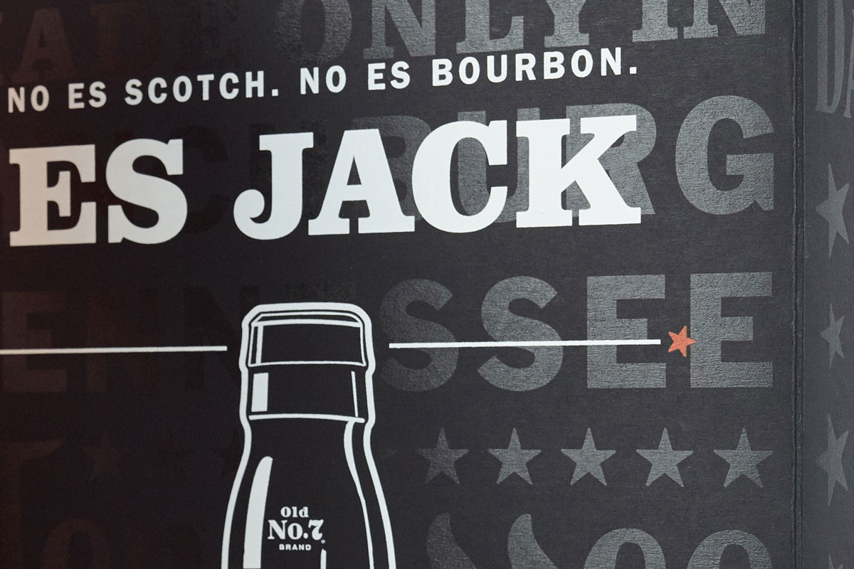 Jack Daniels Case Study - Neenah Packaging With Blank Jack Daniels Label Template